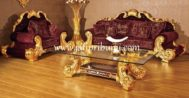 Kursi Tamu Mewah Luxulury Gold