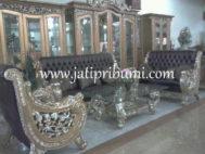 Kursi Tamu Mewah Raffi Ahmad Terbaru