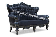 Sofa Ukir Roche Black