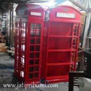 Lemari Rak Box Telephone