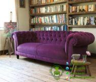 Sofa Chester Purple