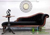 Sofa Klasik Warna Natural Kayu