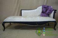 Sofa Minimalis Klasik Warna Hitam Emas