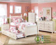 Set Tempat Tidur Anak Perempuan Terbaru
