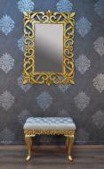 Cermin Hiasan Dinding Model Ukiran