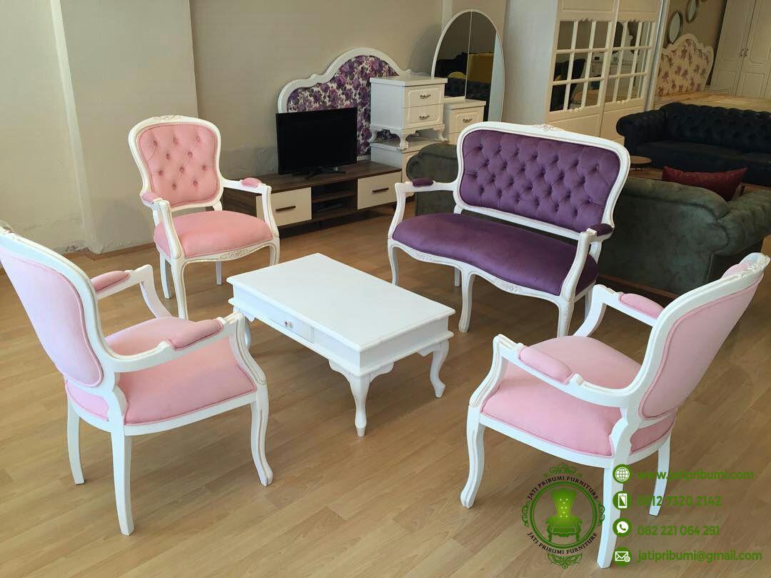kursi tamu terbaru untuk ruang tamu kecil jati pribumi