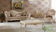 Kursi Sofa Tamu Ukiran Desain Mewah Terbaru