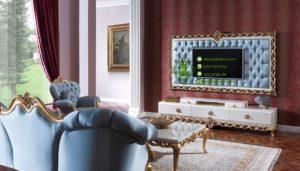 Meja TV Mewah Klasik Modern