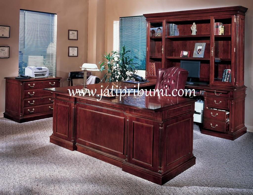 set meja kantor classic 1