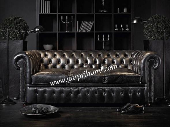 sofa mewah black