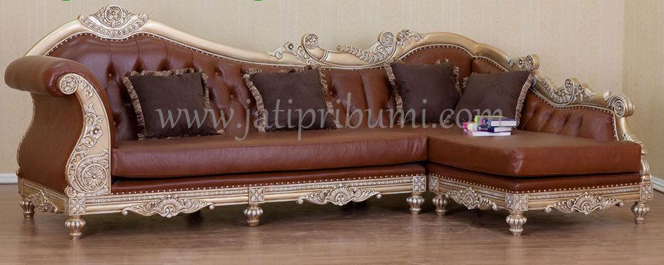 sofa tamu sudut ukiran jepara harga murah dan berkualitas