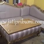 Sofa Tamu Sudut Ukir Jepara Terbaru