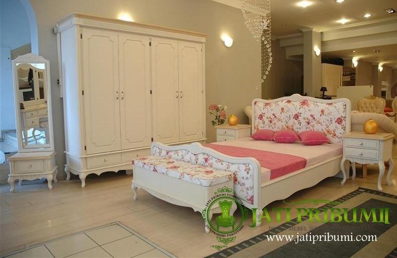 set tempat tidur minimalis shabby chic