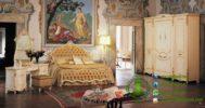 Kamar Set Mewah Warna Putih Cream