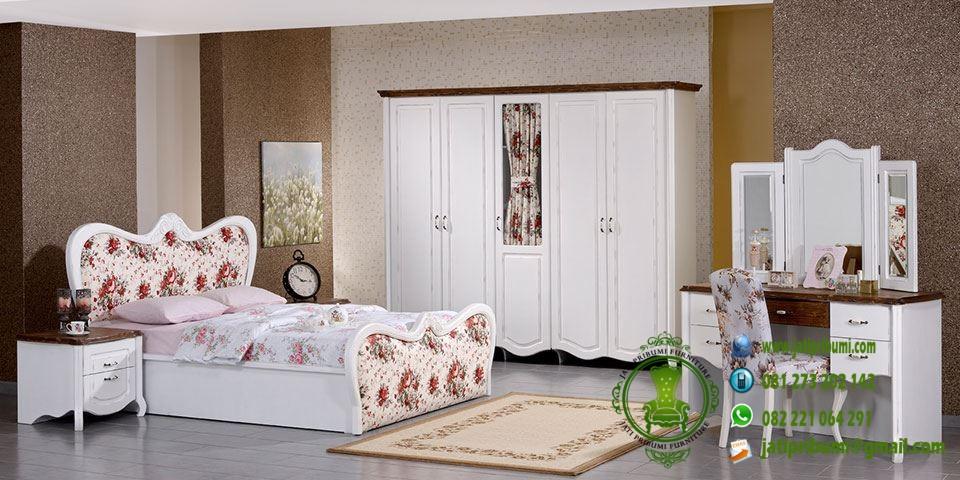 set tempat tidur cantik model terbaru harga murah desain mewah dan minimalis