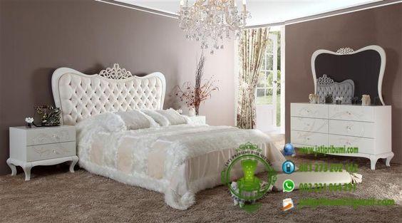 set tempat tidur minimalis modern warna putih model terbaru harga murah dan berkualitas