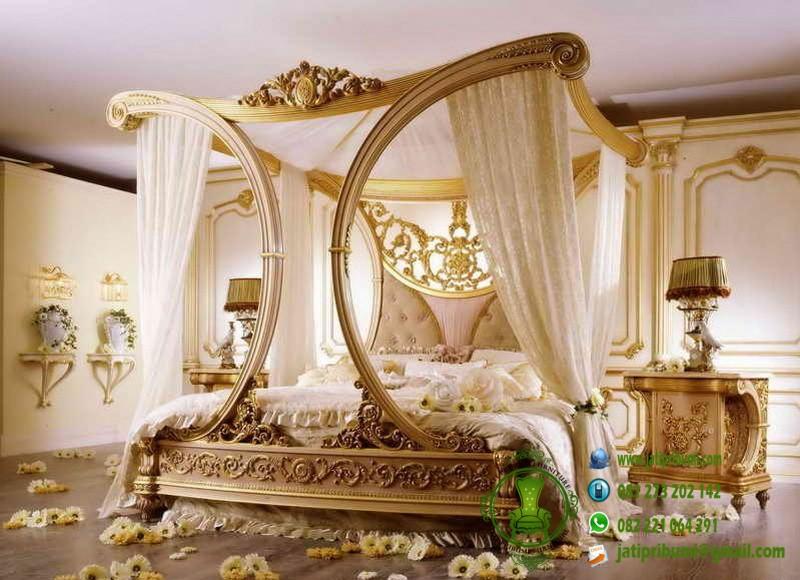 set tempat tidur romantis model terbaru desain mewah harga murah dan berkualitas - Copy