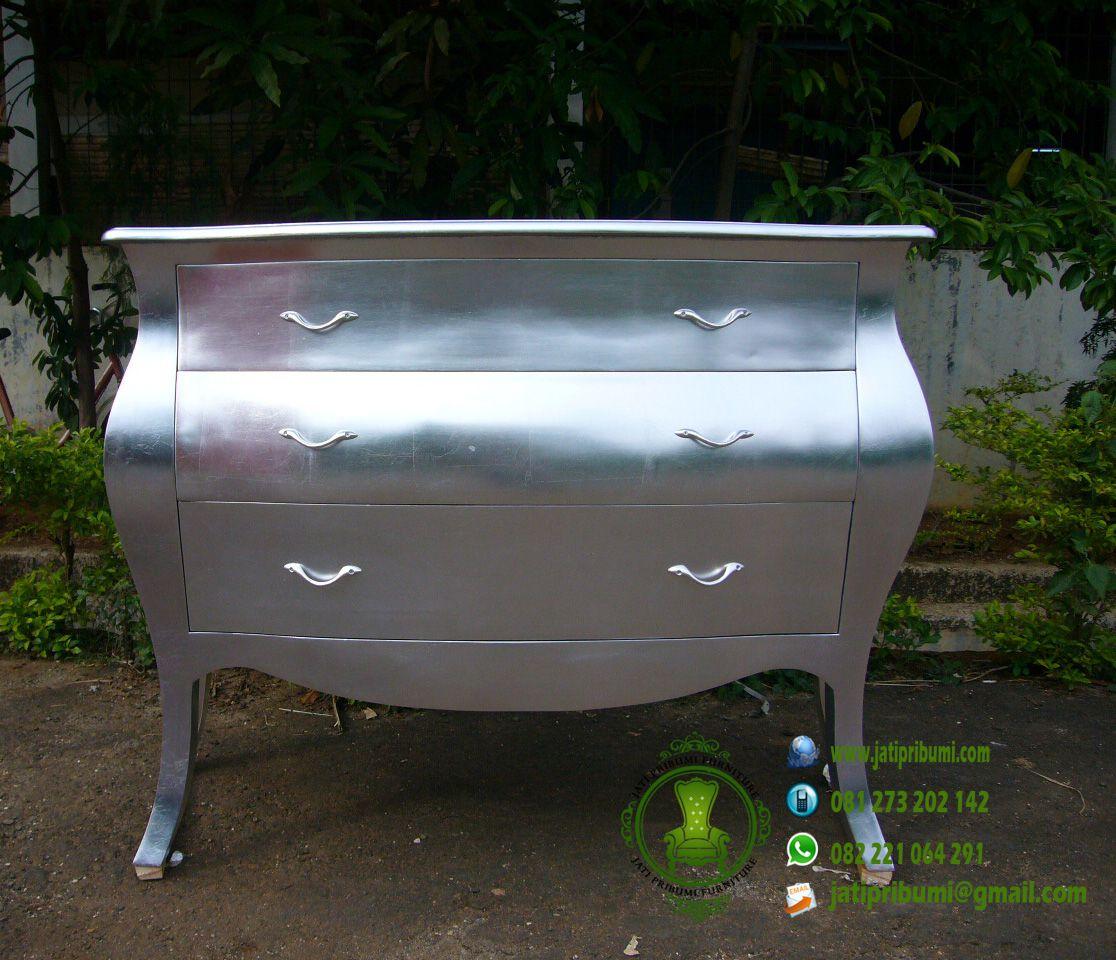 Meja pajangan warna silver model terbaru harga murah