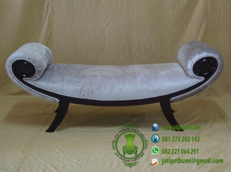 kursi lengkung tanpa sandaran jok