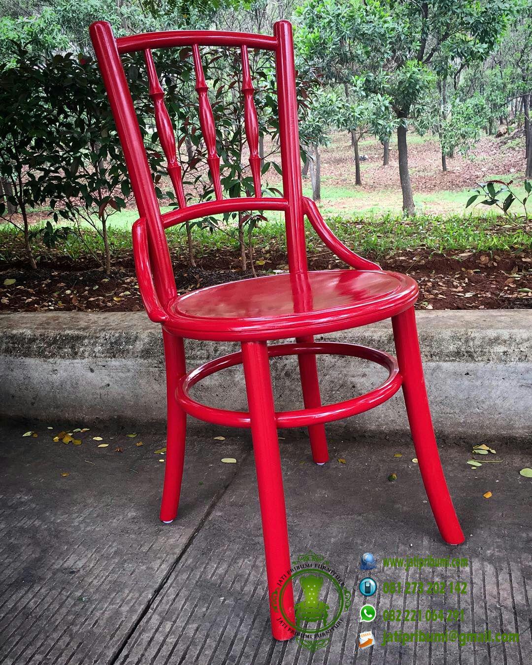 kursi tiffany cowboy warna merah harga murah dan berkualitas