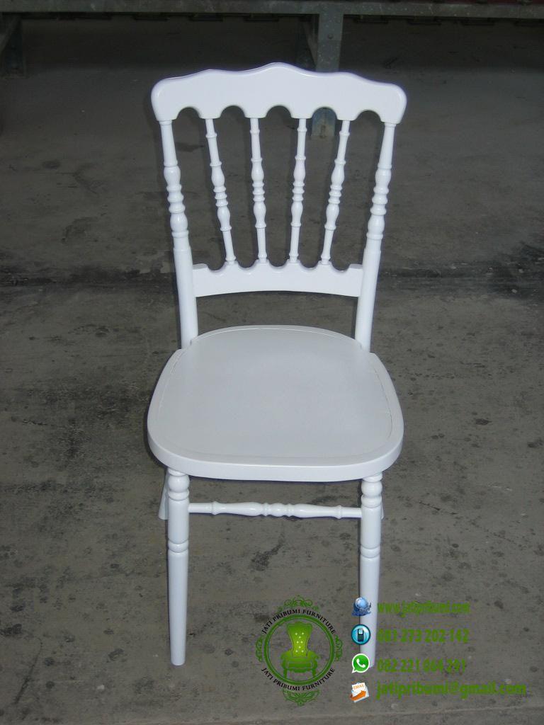 kursi tiffany napoleon warn putih harga murah berkualitas furniture mebel jepara