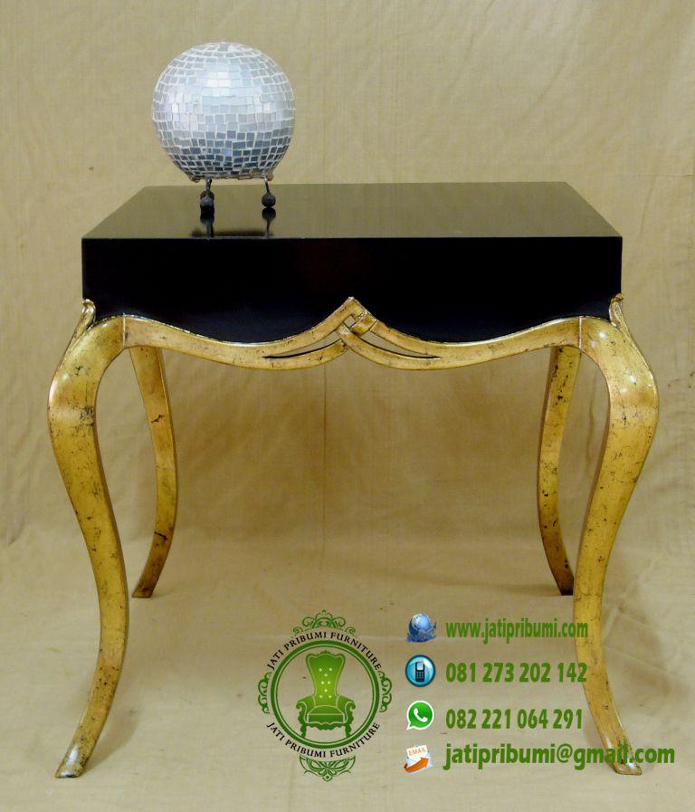 meja mewah pelengkap set kursi
