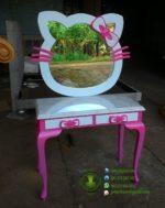 Meja Rias Hello Kitty Jati Model Terbaru