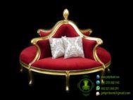 Sofa Bundar Dudukan 4 Ukiran Jepara