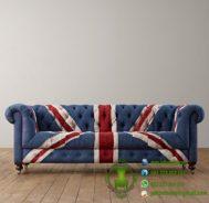 Sofa Chester Bendera Inggris Model Terbaru