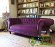 Sofa Chester Purple