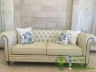 Sofa Chesterfield Oscar Cream