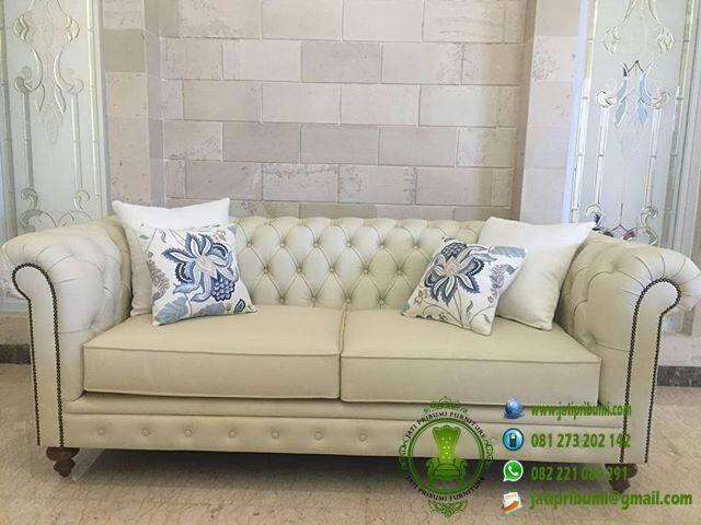 sofa chesterfield oscar cream