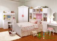 Kamar Set Anak Warna Putih Minimalis