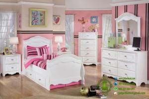 Set Tempat Tidur Anak Cewek Model Terbaru