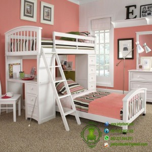 Set Tempat Tidur Anak Model Susun