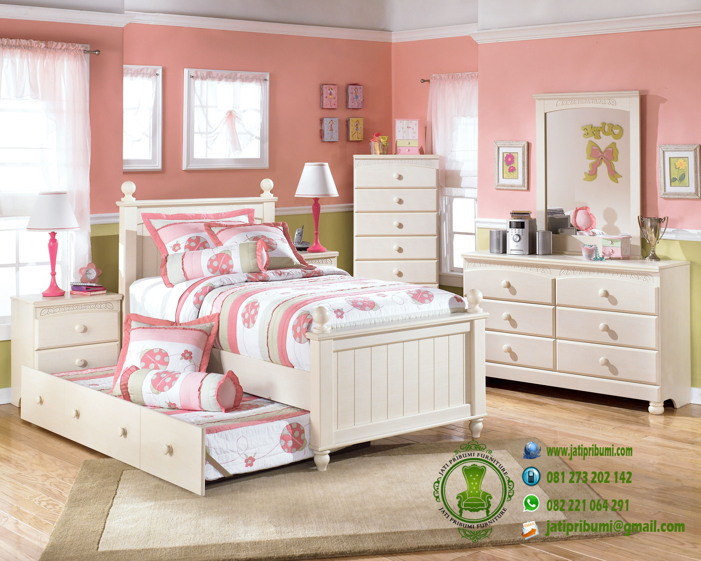 set-tempat-tidur-anak-perempuan-terbaru
