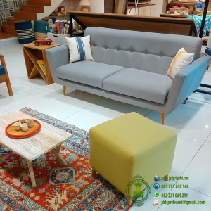 Sofa Retro 2 Seater Jati