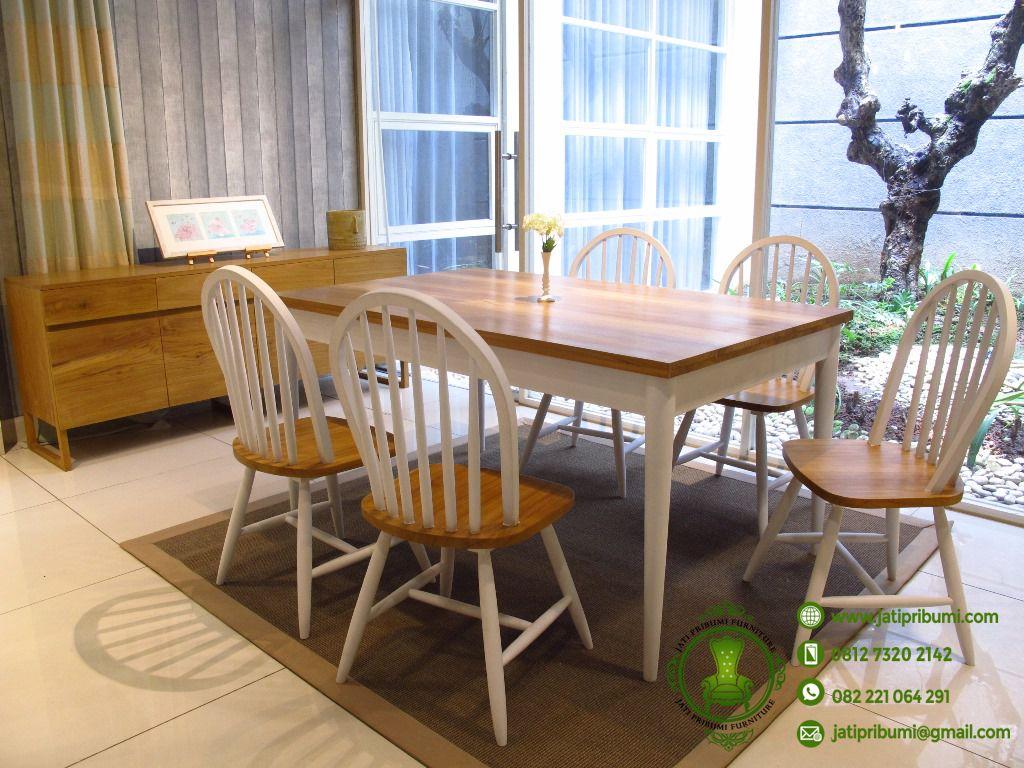 meja-makan-jati-klasik-minimalis-cat-duco-harga-murah-berkualitas