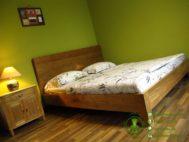 Tempat Tidur Minimalis Jati Vintage Style
