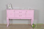 Dresser Cantik Warna Pink Muda
