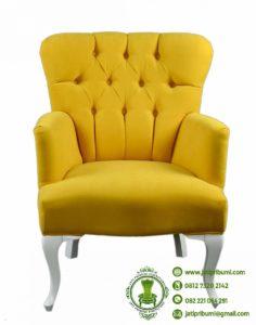 Kursi Minimalis Warna Kuning