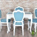 Meja Makan Minimalis Putih