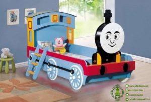Tempat Tidur Anak Bentuk Kereta Thomas