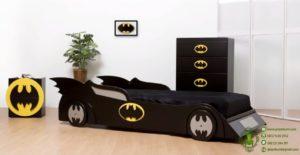 Tempat Tidur Anak Bentuk Mobil Batman
