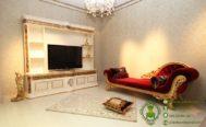 Jual Meja TV Mewah dan Sofa Klasik
