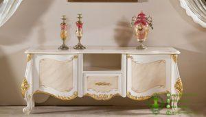 Meja TV Bergaya Furniture Eropa