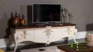 Meja TV Ukir Jepara Terbaru