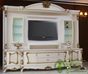 Wardrope Meja TV Klasik Ukir Jepara