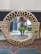 Cermin Bundar Klasik Modern